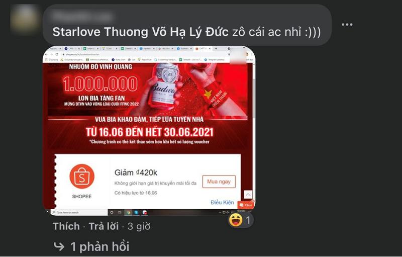 """Budweiser nói là làm: tặng 1.000.000 lon bia """"khao"""" cổ động viên mừng kỳ tích Việt Nam lần đầu lọt vòng loại cuối World Cup 2022"""